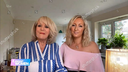 Stock Picture of Sherrie Hewson and daughter Keely