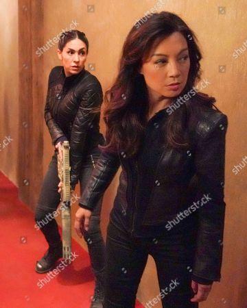 Stock Picture of Natalia Cordova-Buckley as Elena 'Yo-Yo' Rodriguez and Ming-Na Wen as Melinda May