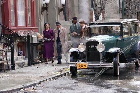 Chloe Bennet as Agent Daisy Johnson and Clark Gregg as Phil Coulson