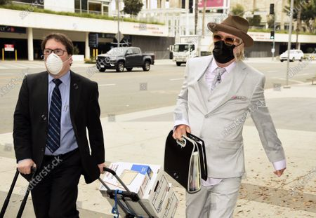 Editorial photo of Lisa Marie Presley Divorce Trial, Los Angeles, United States - 03 Aug 2020