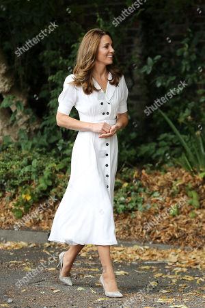 Editorial picture of Catherine Duchess Of Cambridge visits Baby Basics UK and Baby Basics Sheffield, UK - 04 Aug 2020
