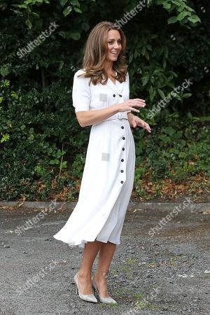 Editorial photo of Catherine Duchess Of Cambridge visits Baby Basics UK and Baby Basics Sheffield, UK - 04 Aug 2020