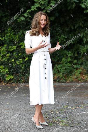 Editorial image of Catherine Duchess Of Cambridge visits Baby Basics UK and Baby Basics Sheffield, UK - 04 Aug 2020