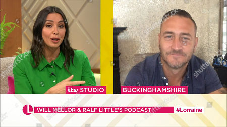 Stock Photo of Christine Lampard and Will Mellor