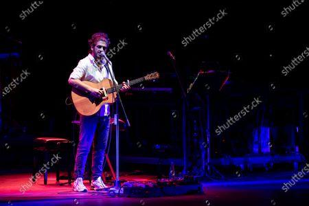 Editorial picture of Daniele Silvestri in concert, Auditorium, Rome, Italy - 03 Aug 2020