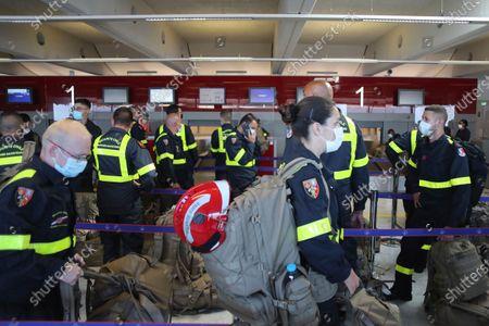 Editorial photo of Lebanon Explosion, Paris, France - 05 Aug 2020