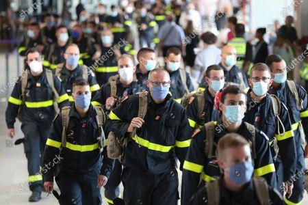 Editorial picture of Lebanon Explosion, Paris, France - 05 Aug 2020