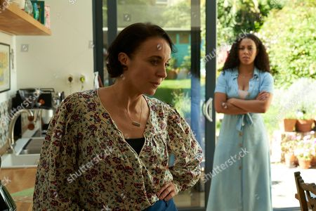 Amanda Abbington as Lyndsey and Nicôle Lecky as Jordan