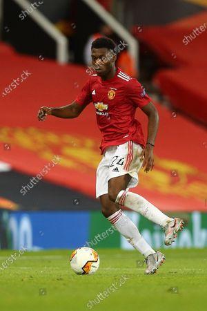 Timothy Fosu-Mensah of Manchester United
