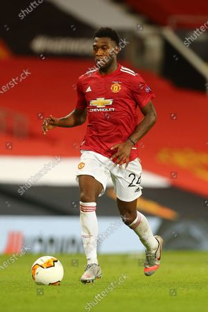 Stock Picture of Timothy Fosu-Mensah of Manchester United