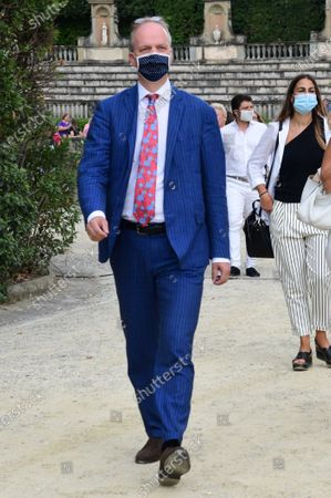 Eike Schmidt director Uffizi Museums during the presentation of the artwork ' Give ' to the Boboli Gardens