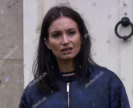 Emmerdale - Ep 8821 Wednesday 12th August 2020 It is not long before the penny finally drops for Leyla Harding, as played by Rokhsaneh Ghawam-Shahidi, who her tormentor is.