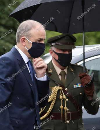 Editorial image of Hume Funeral, Londonderry, United Kingdom - 05 Aug 2020