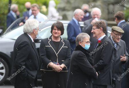 First Minister Arlene Foster.