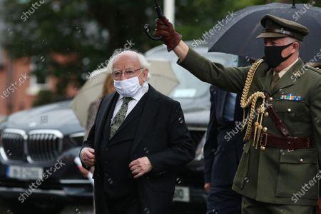 Irish President Michael D Higgins.