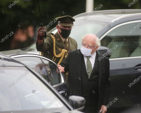 Editorial photo of John Hume funeral, Derry, UK - 05 Aug 2020