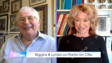 Christopher Biggins and Lynda La Plante