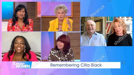Ranvir Singh, Gloria Hunniford, Judi Love, Janet Street-Porter, Christopher Biggins and Lynda La Plante