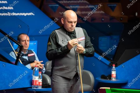 Editorial image of Exclusive - Betfred World Snooker Championship, Day Six, Crucible Theatre, Sheffield, UK - 05 Aug 2020