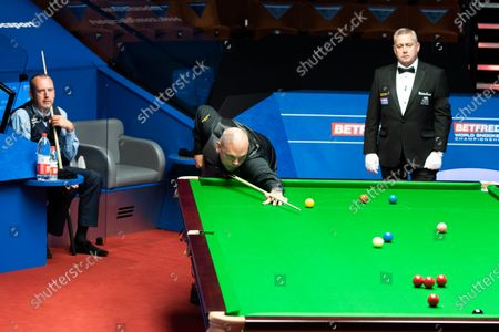 Editorial picture of Exclusive - Betfred World Snooker Championship, Day Six, Crucible Theatre, Sheffield, UK - 05 Aug 2020