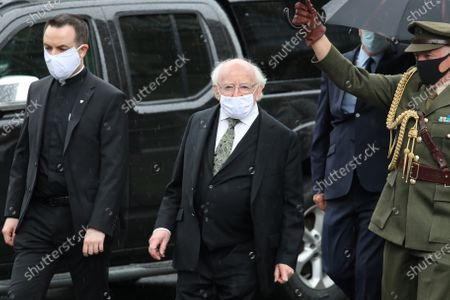 Editorial image of Funeral of John Hume at the Cathedral of Saint Eugene, Derry City, Northern Ireland - 05 Aug 2020
