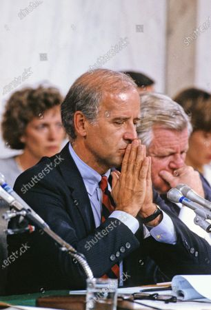 Editorial image of Clarence Thomas Confirmation Hearings, Washington, District of Columbia, USA - 10 Oct 1991