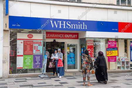 Stock Picture of It was announced today that High Street stationers WH Smith are considering cutting 11% of their workforce which could result in the loss of 1,500 jobs following the impact of the Coronavirus lockdown. The job losses are expected to be at their stores at railway stations and airports