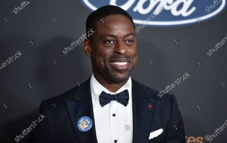Sterling K. Brown arrives at the 51st NAACP Image Awards, in Pasadena, Calif. Brown, Viola Davis and LeBron James are among several honorees at the AAFCA TV Honors later this month. The African American Film Critics Association announced the recipients of the second annual event on Wednesday. The virtual ceremony is scheduled to air Aug. 22