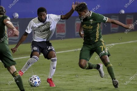 Editorial image of MLS Union Timbers Soccer, Kissimmee, United States - 05 Aug 2020
