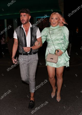 Editorial photo of Amelia Lily out and about, London, UK - 05 Aug 2020