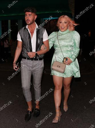 Editorial image of Amelia Lily out and about, London, UK - 05 Aug 2020