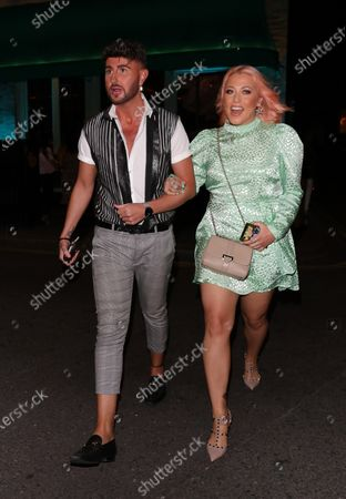 Stock Picture of Amelia Lily leaving Sexy Fish