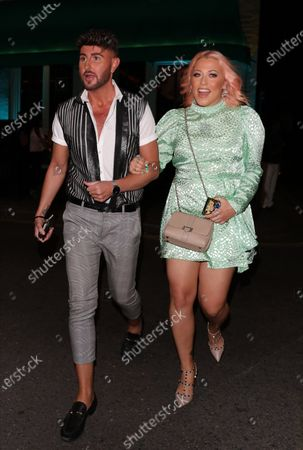 Editorial picture of Amelia Lily out and about, London, UK - 05 Aug 2020