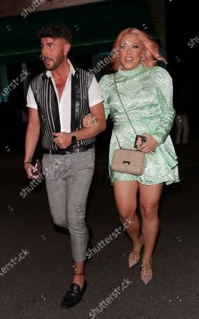 Stock Photo of Amelia Lily leaving Sexy Fish