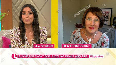 Stock Picture of Christine Lampard and Lisa Minot