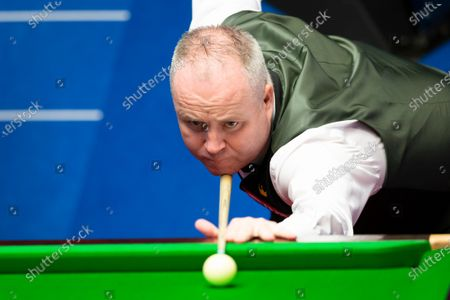 Editorial image of Exclusive - Betfred World Snooker Championship, Day Seven, Crucible Theatre, Sheffield, UK - 06 Aug 2020