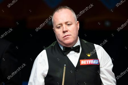 Editorial picture of Exclusive - Betfred World Snooker Championship, Day Seven, Crucible Theatre, Sheffield, UK - 06 Aug 2020