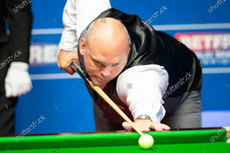Editorial photo of Exclusive - Betfred World Snooker Championship, Day Seven, Crucible Theatre, Sheffield, UK - 06 Aug 2020