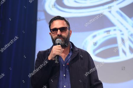 Shaun Keaveny on stage during The Nordoff Robbins O2 Silver Clef Awards 2018.
