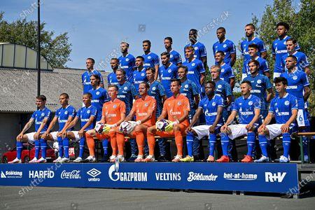 Editorial image of FC Schalke 04 - Team presentation, Gelsenkirchen, Germany - 06 Aug 2020