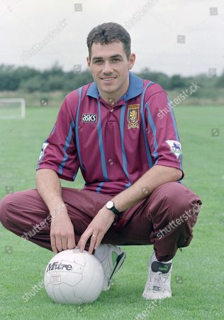 Editorial picture of Ex-Chelsea player Andy Townsend signs for Villa in a two million pound deal on the eve of his 30th birthday, UK - 06 Aug 2020