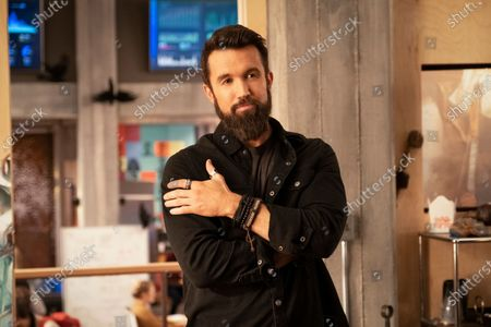 Stock Image of Rob McElhenney as Ian