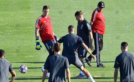 Editorial photo of Juventus FC training, Turin, Italy - 06 Aug 2020
