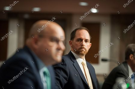 Bradley D. Hansell, of Virginia, appears before a Senate Committee on Armed Services hearing to examine his nomination to be a Deputy Under Secretary, in the Dirksen Senate Office Building on Capitol Hill in Washington, DC.,.