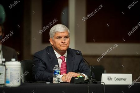 Editorial picture of Senate Committee on Armed Services hearing for nominations., Washington, District of Columbia, USA - 06 Aug 2020