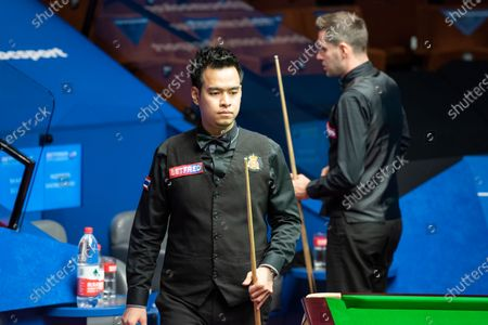 Noppon Saengkham and Mark Selby