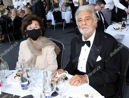 Editorial photo of Austrian Music Theater Prize, Salzburg Airport, Austria - 06 Aug 2020