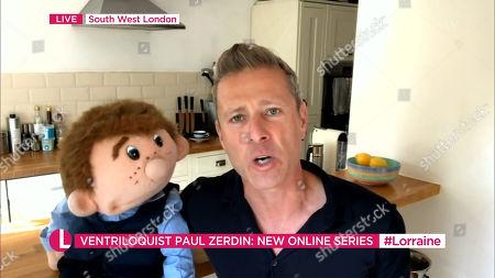Editorial image of 'Lorraine' TV show, London, UK - 07 Aug 2020
