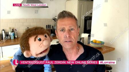 Editorial photo of 'Lorraine' TV show, London, UK - 07 Aug 2020