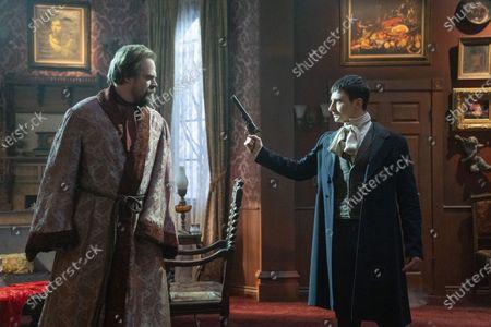 David Harbour as David Harbour III/David Harbour Jr/Frankenstein and Alex Ozerov as Joey Vallejo/Sal